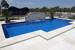 Leisure Pools new Grand Elegance model - inground fiberglass pools