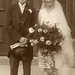 The wedding of David Jackson to Violet Knowles