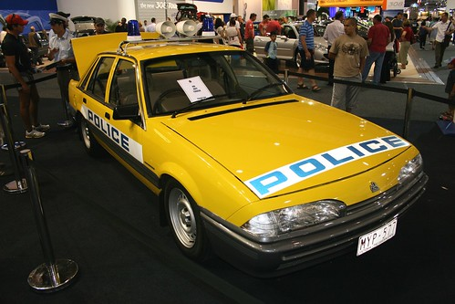 holden police car