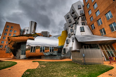 surreal (mikefranklin) Tags: cambridge usa brick iso100 march nikon massachusetts sigma 2008 frankgehry statacenter hdr 3xp massachusettsinstituteoftechnology d80 1020mmf456 a:a=camera a:a=countries a:a=years a:b=objects