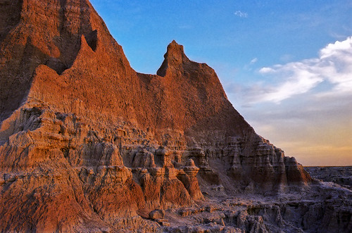 Early Morning at the Badlands