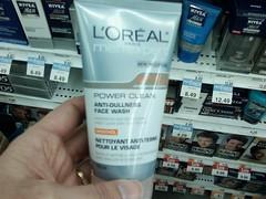 L'Oreal Men Power Clean Anti-Dullness Face Wash