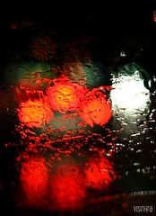 Trickles of rain