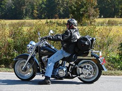 Richard on his new Ride_10-21-06