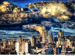 Global Warning (Omar Junior) Tags: world street blue sky cloud color building texture colors rio azul brasil clouds warning buildings cores geotagged grande avenida high do dynamic pentax dramatic portoalegre cu porto fim end nuvens imaging alegre nuvem drama omar mapping ist range poa rs ceu tone mundo riograndedosul hdr sul pentaxistd global hdri predio ipiranga mapped rbs predios lucisart rgs verissimo rico dramatica highdynamicrangeimaging geo:lat=30048535 geo:lon=51217897