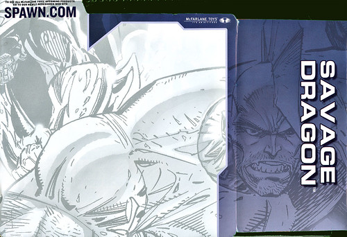 backer get wallpaper. SAVAGE DRAGON ::IMAGE 10TH ANNIVERSARY ..McFarlane Toys ; Backer card i