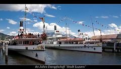 """80 Jahre Dampfschiff """"Stadt Luzern"""" (AviationPhoto.ch) Tags: ferry canon geotagged eos schweiz switzerland boat ship suisse swiss luzern dampfer steamboat steamship lucerne steamer 18200 vierwaldstättersee dampfschiff lakelucerne weggis dampfschifffahrt paddlesteamer hertenstein sigma18200 raddampfer 40d geo:lon=8 geo:lat=47 canoneos40d elessarch sigmaafos182003563dc 00841833 05056578 31378178 45248633 aviationphotoch wwwaviationphotoch"""