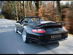 Porsche 911 Turbo Convertible Sportec SP600 2008 (Syed Zaeem) Tags: wallpaper car 911 convertible turbo porsche wallpapers 2008 sportec sp600 getcarwallpapers