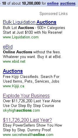 Skyhigh Auctions Spam