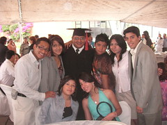 Huberto and his youth from church