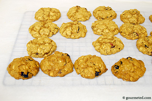 Healther Oatmeal Cookies