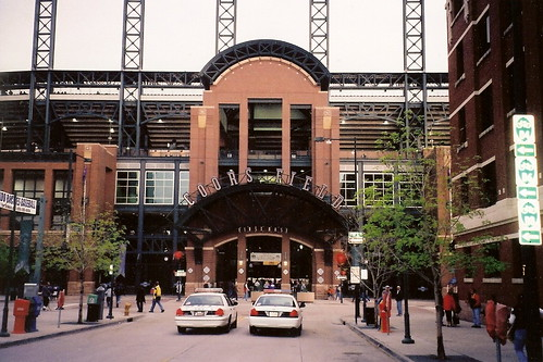 Coors Field, Home of the Colorado Rockies for a Game Between the Colorado Rockies and the Atlanta Braves
