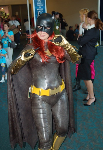 Comic Con 2008: Black Rubber Batgirl