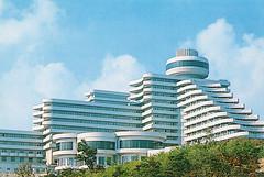 Ryanggang Hotel (Tom Peddle) Tags: dprk north korea korean northkorea northkorean postcards tourism photos buildings socialist ryanggang hotel ryangganghotel