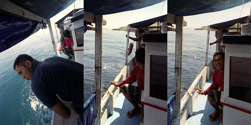 Fishing Komodo Triptych