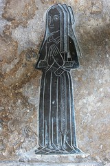 Brass monument c1500