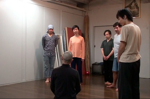 Yoshito Ohno Butoh Workshop: Session 4 (Yokohama, 2011)