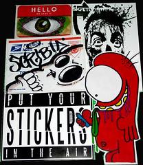 edit8 (andres musta) Tags: toronto art sticker stickerart expo stickers arts international adhesive 2011