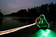 Wishes (heitere_fahne) Tags: light lightpainting river painting wishes aare dwcfflightpaint