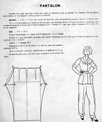 the 1950s-pyjamas trousers pattern (april-mo) Tags: sewing pyjamas 1951 vintagesewingpattern vintagepattern the1950s vintagepyjamas vintagepyjamaspattern 1951pattern