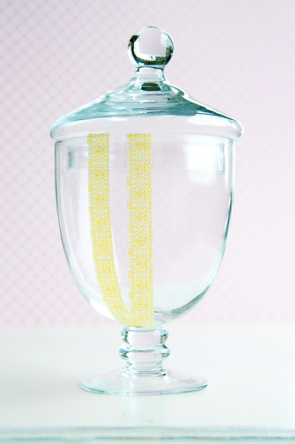 Washi Tape Jar