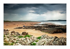 Stormy coast - SPAIN (Botond Horvth) Tags: ocean sea summer storm nature rock landscape coast spain sand nikon europe shore nikkor tengerpart 2010 filtered cokin d90 botond horvth spanyolorszg 1685mm