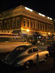 046/366 (daveelmore) Tags: city copyright night virginia downtown roanoke porsche allrightsreserved mzuiko1442 daveelmore