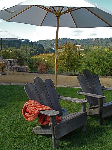 Picnic Ready Winery...blanket and all!