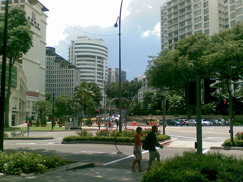 Corner of Napier and Tanglin Rd