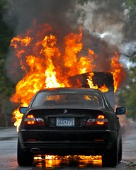 BMW 325Ci on Fire (Tony Webster) Tags: favorite car minnesota fire interestingness smoke flames prospectpark minneapolis licenseplate flame bmw vehicle firefighter firefighters 325ci carfire umn totaled universityofminnesota mnspeak southeastminneapolis diversey mfd minneapolisfiredepartment eastriverroad franklinavenue spfd deletethistag bayerischemotorenwerke removethistag saintpaulfiredepartment ctw2007r cgf1507 crv1523