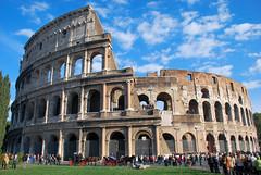 Colosseo, Roma (icomei) Tags: sky cloud rome roma monument day monumento unesco colosseum histoire monuments cirque romain colosseo fororomano smorgasbord antiquit colyse 5photosaday anfiteatroflavio patrimoinemondial amphitheatrum firsttheearth icomei pwpartlycloudy