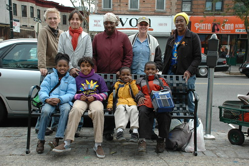 Group Shot, Daffodil Planters, Cortelyou Road