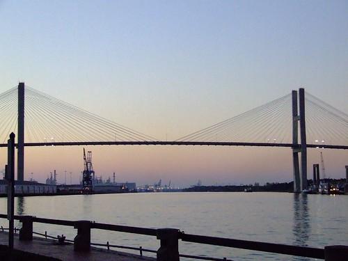 Talmadge Bridge at Twilight