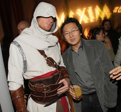 Masi Oka at the Maxim party for Assassin's Creed