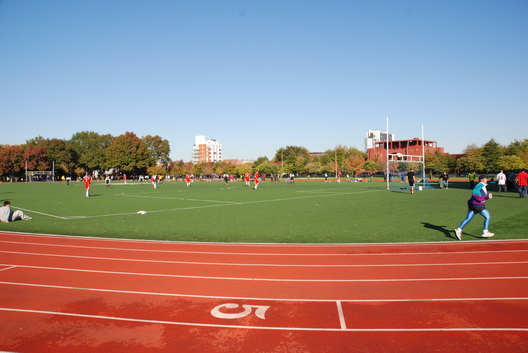 McCarren Park in Fall