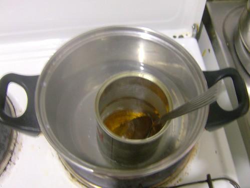 Añade al jabón liquido los ingredientes indicados para la receta que ...