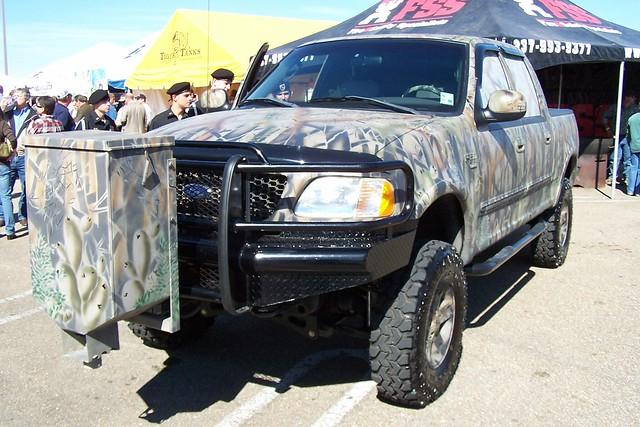 ford 2004 truck louisiana lafayette offroad 4x4 feeder pickup f150 event custom camoflage 2007 fourwheeldrive 4by4 2835 quadcab mallofacadiana halliburtonchilicookoff