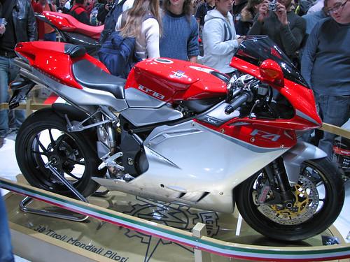 EICMA Show 07 - MV Agusta F4 RR,motorcycle, sport motorcycle, classic motorcycle, motorcycle accesorys
