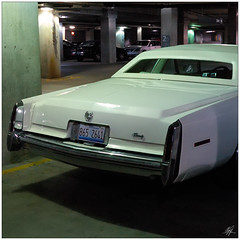 Parking Lot Cadillac