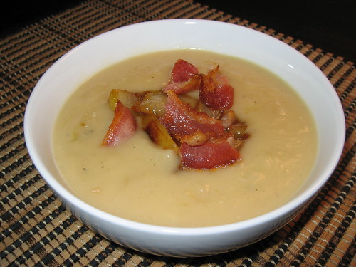 Caramelized Onion and Gorgonzola Soup