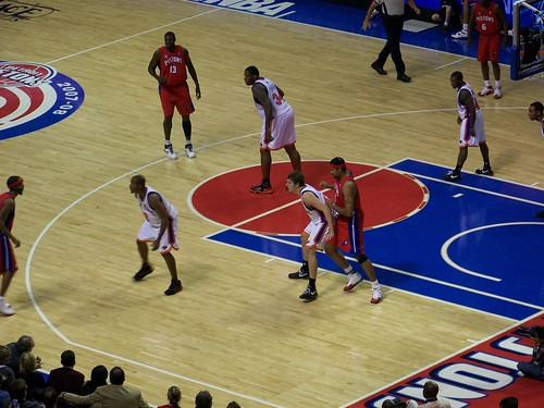 Detroit Pistons vs. New York Knicks (November 21, 2007)
