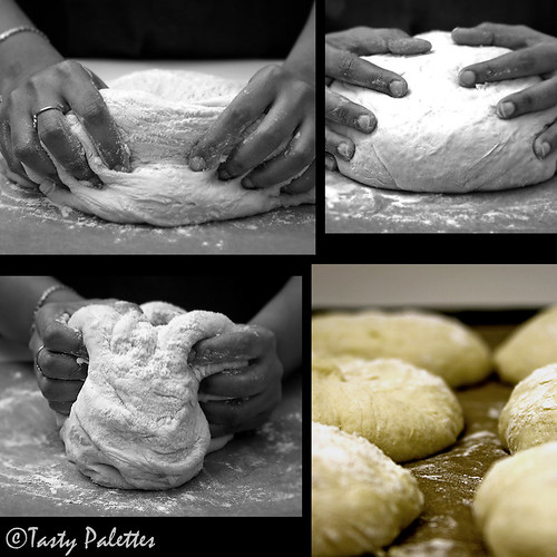 Making Potato Buttermilk Rolls