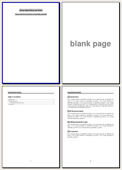 OpenOffice.org Writer in Style