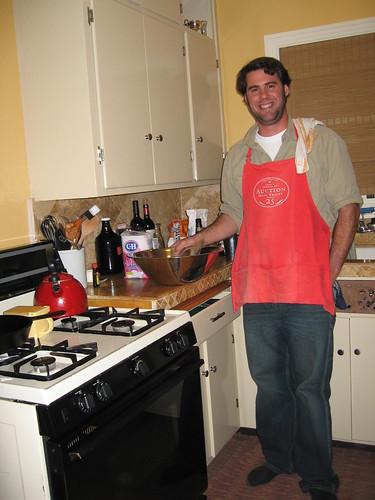 Mark bakes