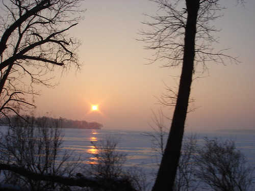 Frozen Morning on Lake Minnetonka