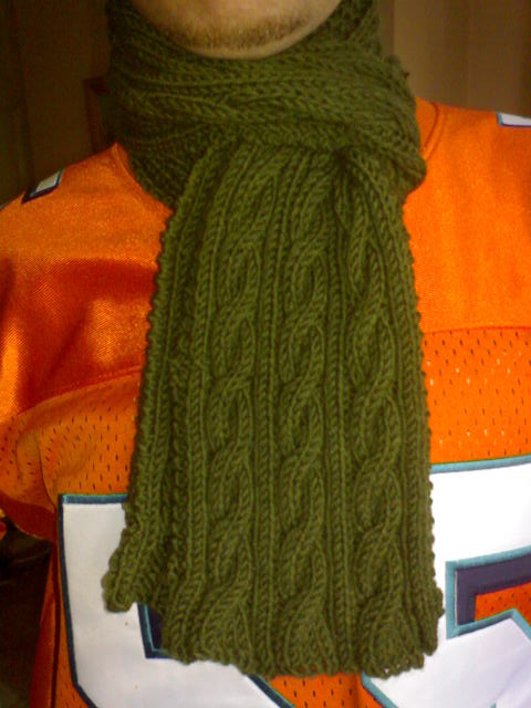 Tony Hiking Scarf by Hayzee C, on Flickr
