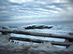on the road (lobotomyzed) Tags: snow portugal estrela da neve serra