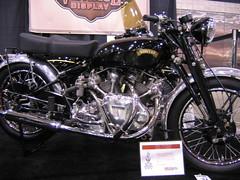 1950 Vincent Rapide Series C (snowboarder2k) Tags: show uk classic bike vincent twin rare rapide hrd seriesc