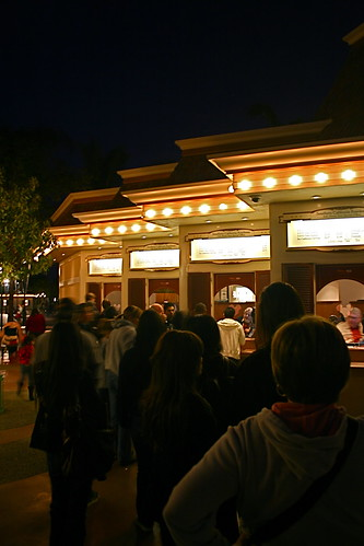 Line at Disneyland Ticket Booth