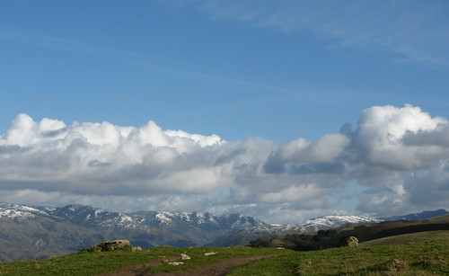 Snow in the Diablo Range